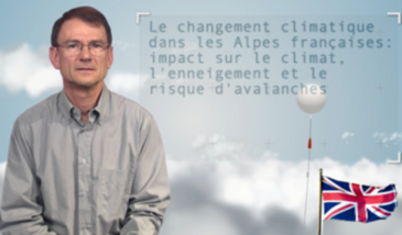 Climate change in the French Alps