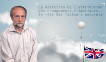 Detection and causes of climate change - natural factors
