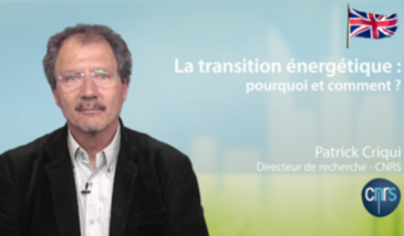 The energy transition: why and how ?