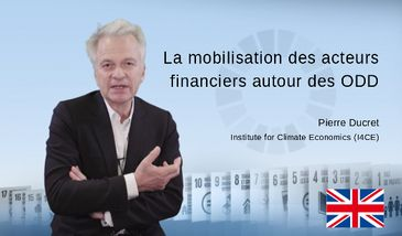 The mobilisation of financial players around the SDGs