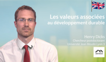 Sustainable development and associated values