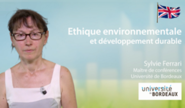 Environmental ethics and sustainable development