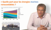 Contexte national et international des énergies marines renouvelables