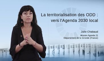 La territorialisation des ODD : vers l'Agenda 2030 local