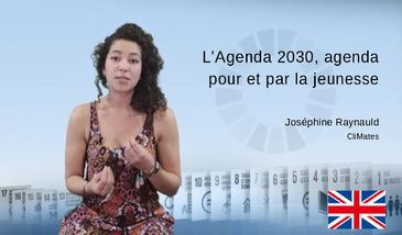 Agenda 2030, an agenda for and by the youth