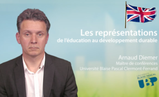 The representation of education in sustainable development